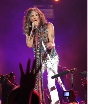 Picture of quotation author Steven Tyler