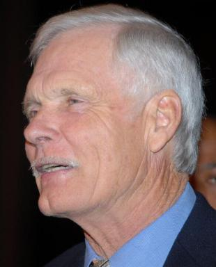 Picture of quotation author Ted Turner