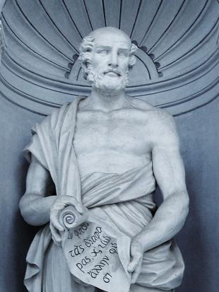 Picture of quotation author Theophrastus