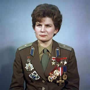 Picture of quotation author Valentina Tereshkova