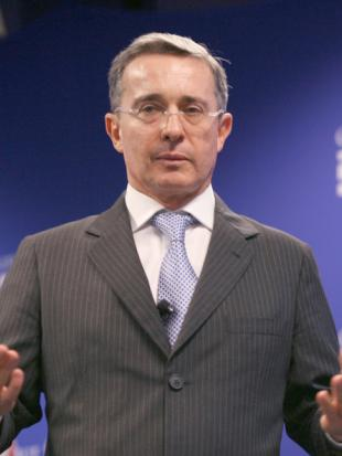 Picture of quotation author Alvaro Uribe