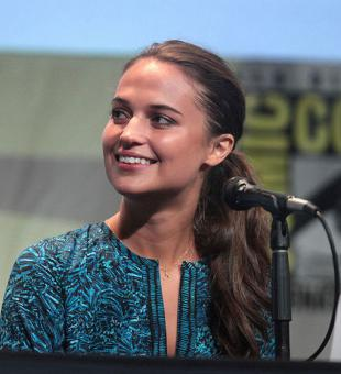 Picture of quotation author Alicia Vikander