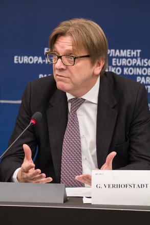 Picture of quotation author Guy Verhofstadt