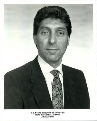Picture of quotation author Jim Valvano