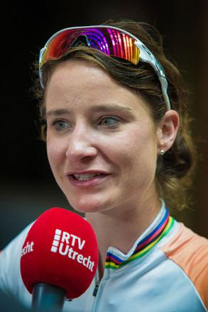 Picture of quotation author Marianne Vos