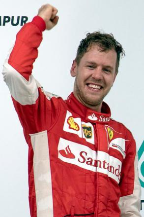 Picture of quotation author Sebastian Vettel