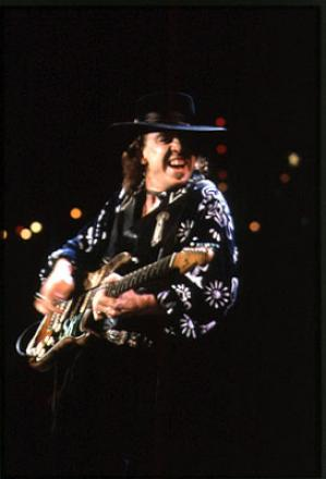 Picture of quotation author Stevie Ray Vaughan