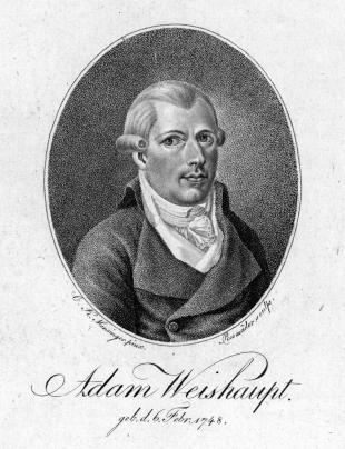 Picture of quotation author Adam Weishaupt