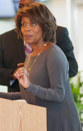 Picture of quotation author Alfre Woodard