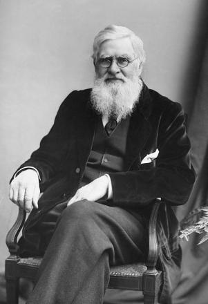 Picture of quotation author Alfred Russel Wallace