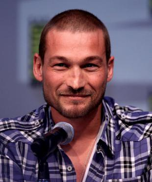 Picture of quotation author Andy Whitfield