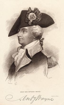 Picture of quotation author Anthony Wayne