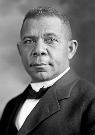 Picture of quotation author Booker T. Washington