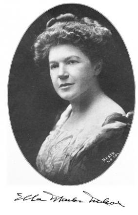 Picture of quotation author Ella Wheeler Wilcox