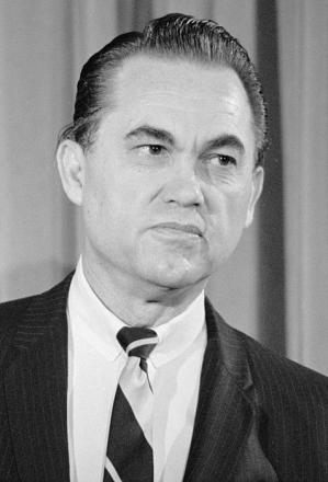 Picture of quotation author George C. Wallace