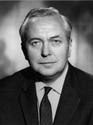 Picture of quotation author Harold Wilson