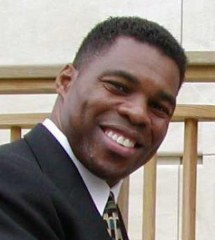 Picture of quotation author Herschel Walker