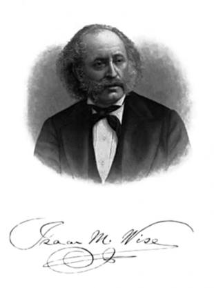 Picture of quotation author Isaac Mayer Wise