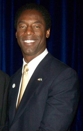 Picture of quotation author Isaiah Washington