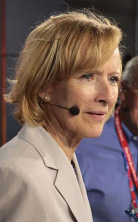 Picture of quotation author Judy Woodruff