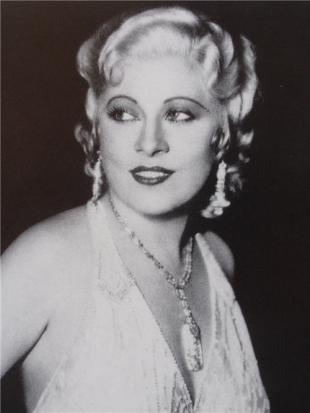 Picture of quotation author Mae West