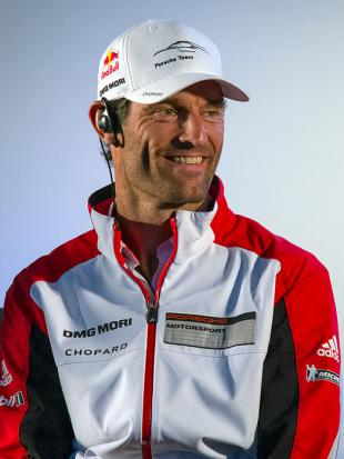 Picture of quotation author Mark Webber