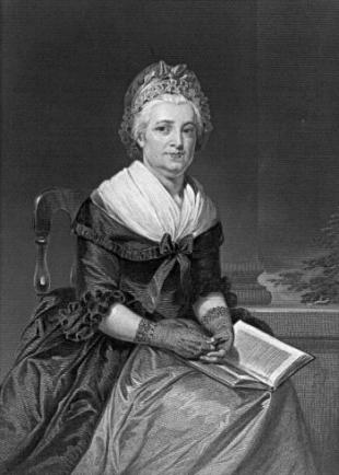 Picture of quotation author Martha Washington