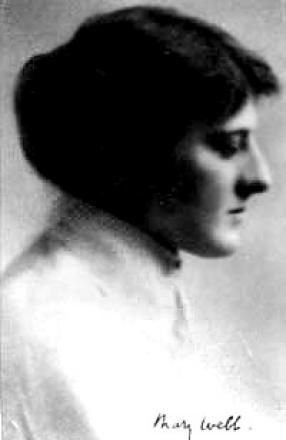 Picture of quotation author Mary Webb