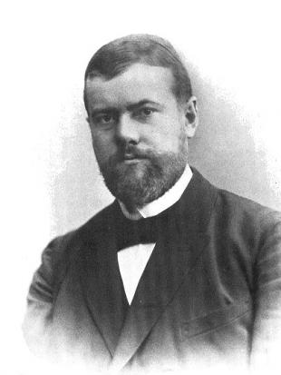 Picture of quotation author Max Weber