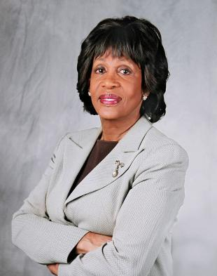 Picture of quotation author Maxine Waters