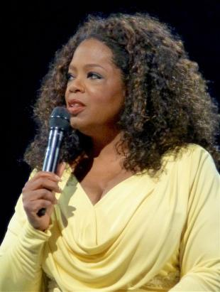 Picture of quotation author Oprah Winfrey