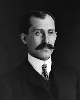 Picture of quotation author Orville Wright