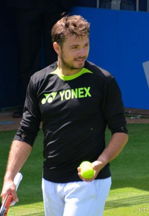 Picture of quotation author Stanislas Wawrinka