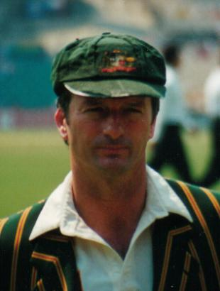 Picture of quotation author Steve Waugh