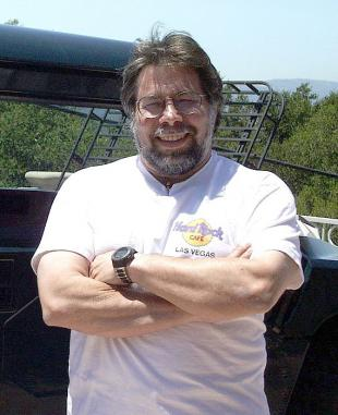 Picture of quotation author Steve Wozniak