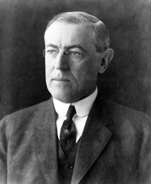 Picture of quotation author Woodrow Wilson