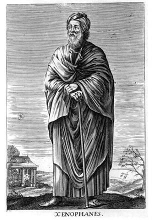 Picture of quotation author Xenophanes
