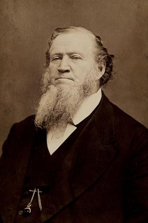 Picture of quotation author Brigham Young