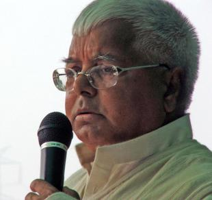 Picture of quotation author Lalu Prasad Yadav