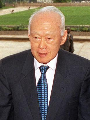 Picture of quotation author Lee Kuan Yew
