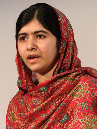 Picture of quotation author Malala Yousafzai