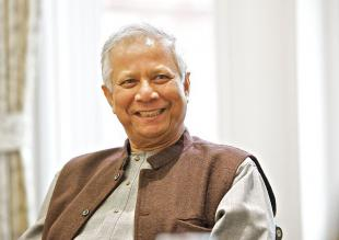 Picture of quotation author Muhammad Yunus