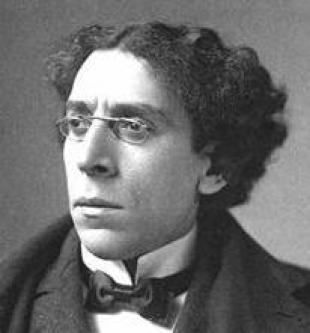Picture of quotation author Israel Zangwill