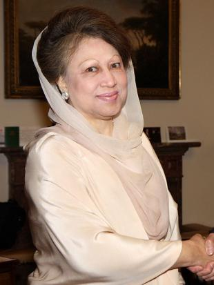 Picture of quotation author Khaleda Zia