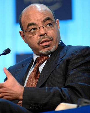 Picture of quotation author Meles Zenawi