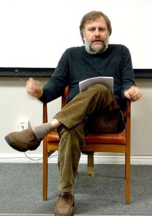 Picture of quotation author Slavoj Zizek