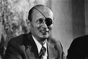 Picture of quotation author Moshe Dayan