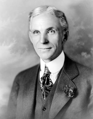 Picture of quotation author Henry Ford