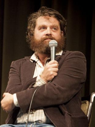 Picture of quotation author Zach Galifianakis