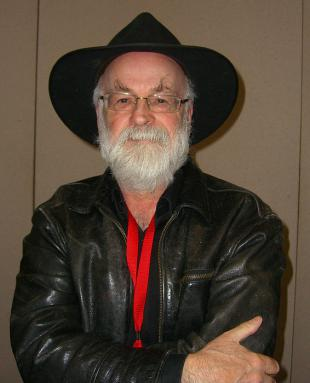 Picture of quotation author Terry Pratchett